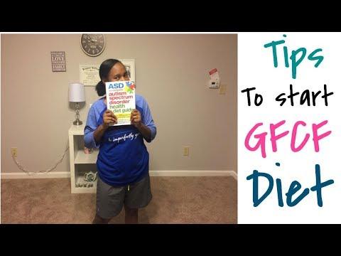 Tips on how to start the gluten/casein free diet