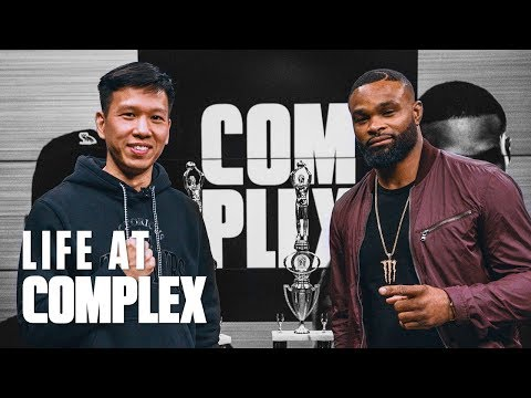 ARE WE BATTLE RAPPING?! Feat. UFC TYRON WOODLEY | #LIFEATCOMPLEX
