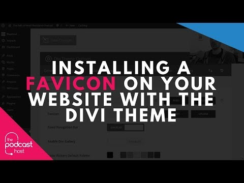 Installing a Favicon on Your Website with the Divi Theme
