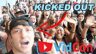 Everyone Got Kicked Out Of Vidcon