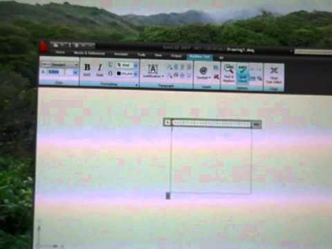 AutoCAD - Modify Text Height.MP4
