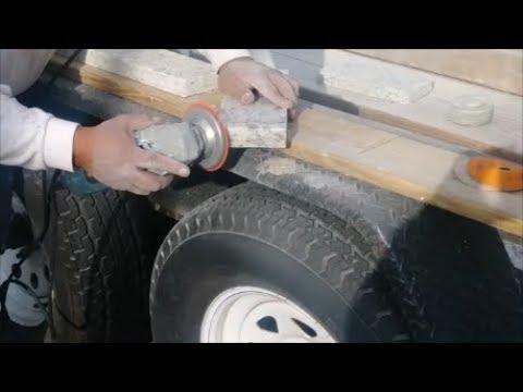 Polish A Granite Edge  Use On A CounterTop Backsplashe  - Step By Sep