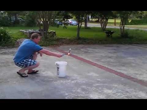 Irrigation pipe and PVC end cap bottle rocket