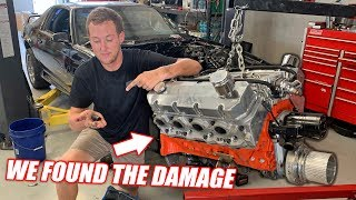 Tearing Down Toast's Damaged 10.3L Supercharged Big Block! Mistakes Were Made...