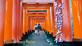 Kyoto. Fushimi Inari Shrine In Snow  #4k #伏見稲荷大社