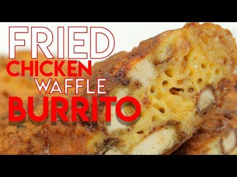 Fried Chicken Waffle Burrito - Handle It
