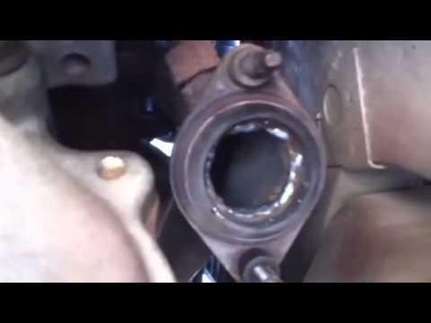 00 Mustang V6 , header leak fix