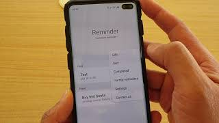 Galaxy S10 / S10+: How to Automatically Create a Reminder When You Decline a Call