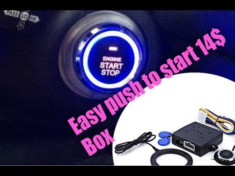 14$ keyless entry push to start button system for car and truck