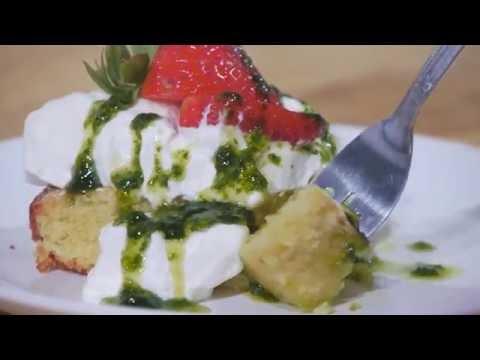 La Tourangelle Basil Infused Oil Basil Cake