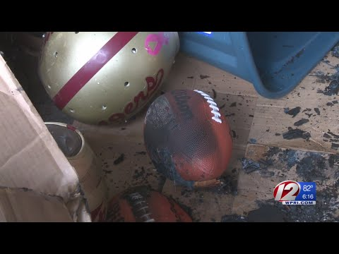 Fire Destroys Youth Football Team's Equipment