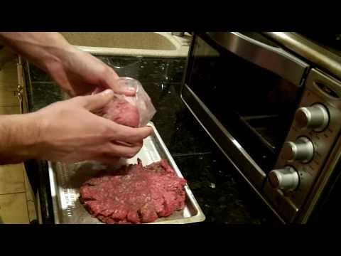 Cooking a Hamburger in the Toaster (Easy and Healthy)