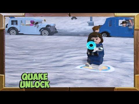LEGO Marvel Super Heroes 2 Quake Character Unlock