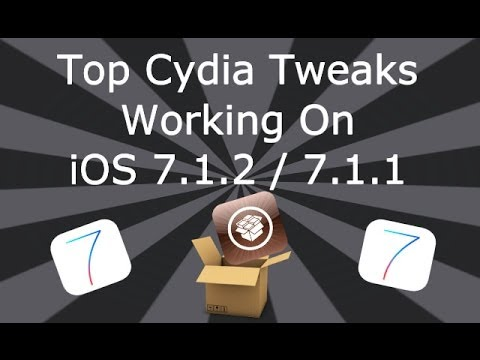 Top Cydia Tweaks Working On iOS 7.1.2 / 7.1.1 iPhone, iPad & iPod Touch