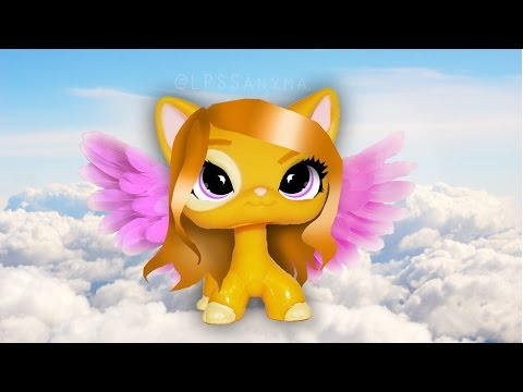 LPS: How to draw/edit! (eyes and hair edit, wings & background)