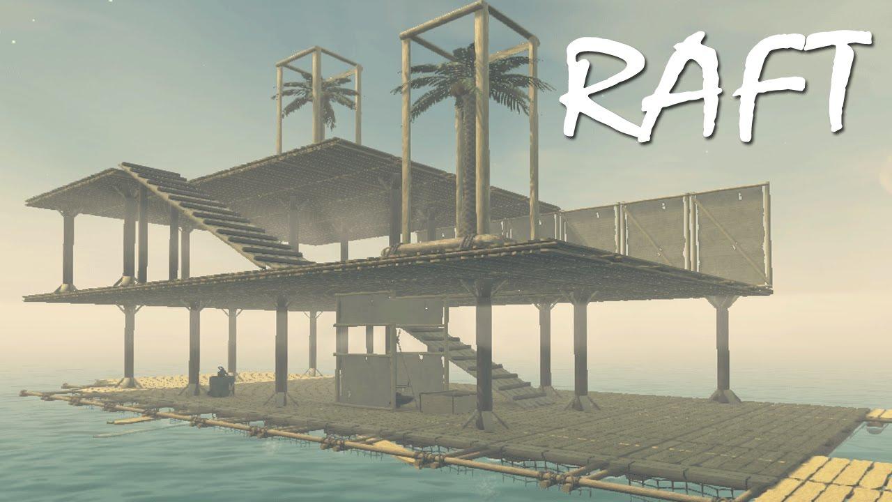 PRETTY DAMN GOOD RAFT ON MY FIRST TRY | RAFT (Ocean Survival)
