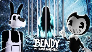 Minecraft BENDY AND THE INK MACHINE - THE RING IS IN BENDYS BASEMENT AND SHE WONT LEAVE!!!!