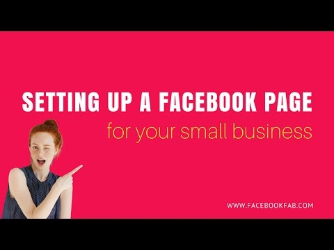 Setting up a Facebook Page for Your Small Business