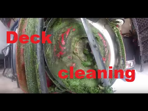 How To Clean A Mower Deck