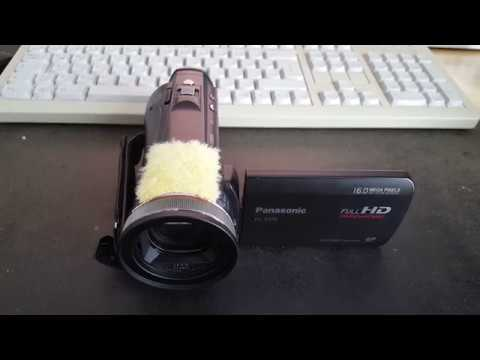 Quick and Dirty DIY Wind Screen for Camcorder Microphones
