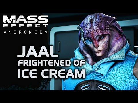 Mass Effect Andromeda - Jaal Frightened of Ice Cream