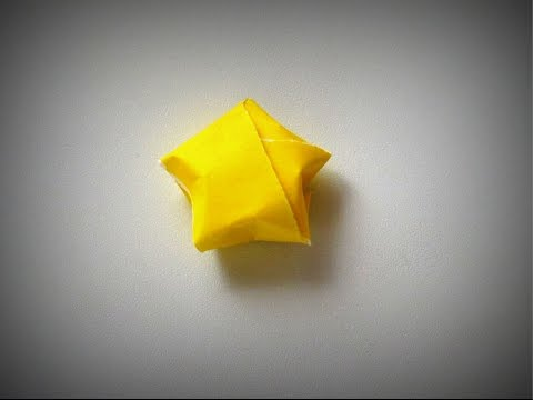 Origami - How to make a 3D STAR (Christmas Decoration)