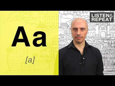 Learn spanish: (2) The Spanish alphabet