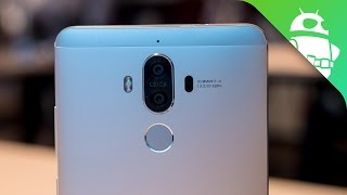 Huawei Mate 9 Hands-on: The New Phablet to Beat?