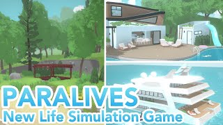 Download New Open World Life Simulation Game! (PARALIVES) Video