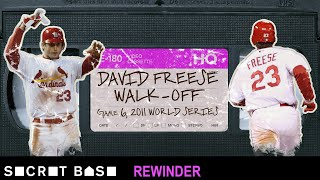 David Freese's epic World Series walk-off demands a deep rewind | 2011 Cardinals-Rangers Game 6