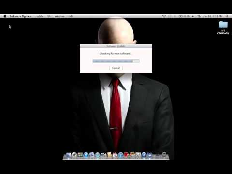 How to check mac software update
