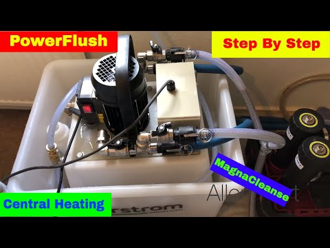 How To Powerflush Open Vent Heating System Day in the life of a Gas Engineer / Plumber