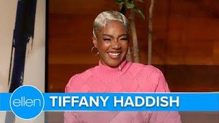 Tiffany Haddish Isn't Ready to Replace Ellen