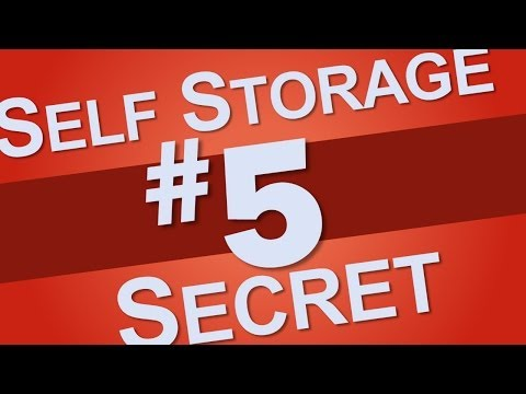 Storage facilities are not responsible for the contents of your unit so insure your items.