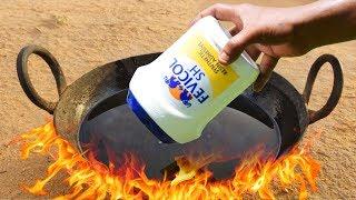 EXPERIMENT HOT OIL VS fevicol