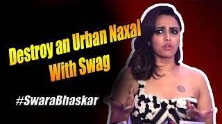 Destroy a Left Liberal with Swag | Thats how they Lie | Aaj Ki Taza Khabar