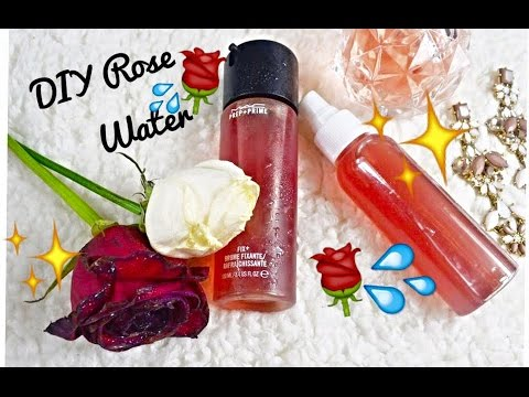 ♡♡DIY ROSE WATER MAKEUP SETTING SPRAY
