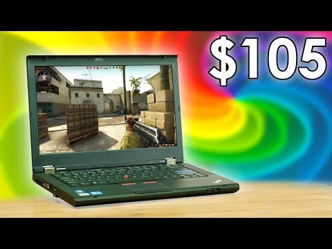 Can you game on a $105 Laptop?