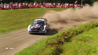 WRC - Neste Rally Finland 2018 / M-Sport Ford WRT: Aerial Clip