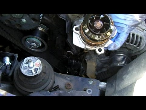 Ford Galaxy 1.9 tdi mk2 WATER PUMP REMOVAL