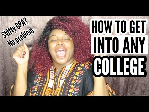 HOW MY 1.7 GPA GOT ME INTO COLLEGE!!! | Thee Mademoiselle ♔