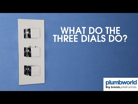 What do the three valves do on a concealed valve? - Plumbworld