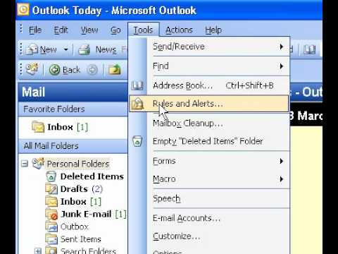Microsoft Office Outlook 2003 Turn Word on or off as your default email editor for all new messages