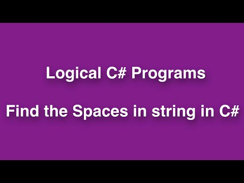 Find the total Number Strings from given string by Using C#