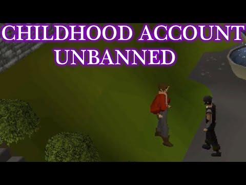 Jagex Unbanned My Old RS Account