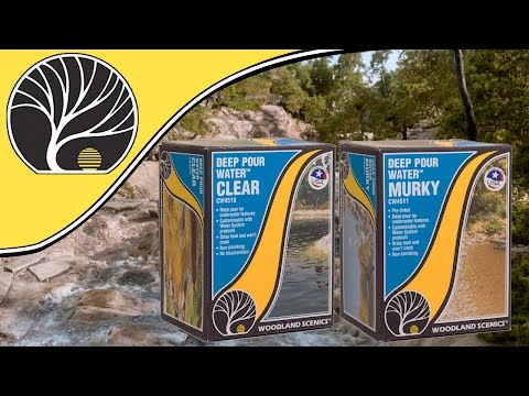 Deep Pour Water™ Clear & Murky | How To Use The Deep Pour Clear & Murky Products  | Woodland Scenics