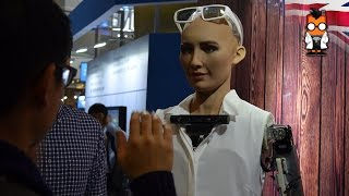 Paper, Rock, Scissors with Sophia by Hanson Robotics