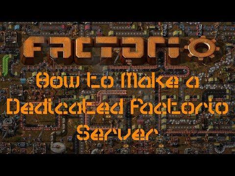 How to Make a Dedicated Factorio Server on Windows 10