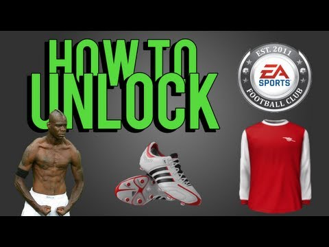 FIFA 13 | How To Unlock Kits, Celebrations, Boots, Balls & Badges