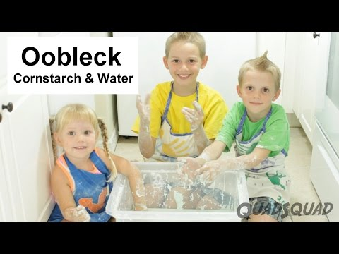 Oobleck - Cornstarch and Water